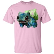 Geometric Bulbasaur – T-Shirt