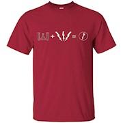 Flash Equation T-Shirt Funny Comic