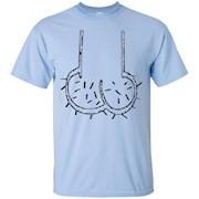 Dickhead Dick Head Chin Balls Penis Rude Funny T-Shirt