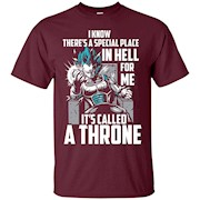 SPECIAL PLACE IN HELL FOR ME – A THRONE – T-Shirt