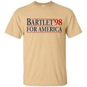 Bartlet for America Slogan Funny T-Shirt