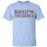 Bartlet for America Slogan Funny T-Shirt