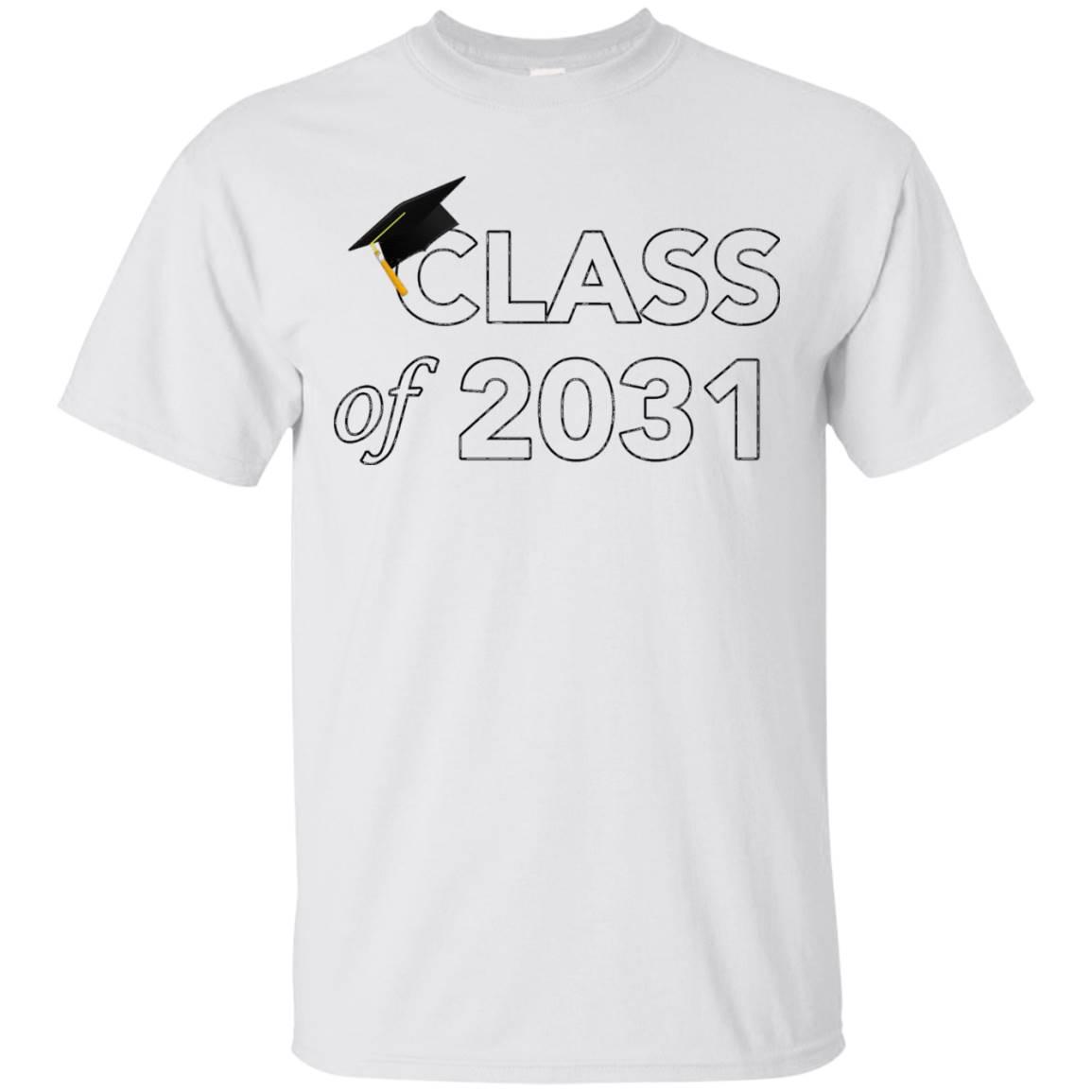 Class of 2031 Graduation T-Shirt T Shirt Tee
