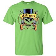 Guns n roses skull t-shirt – T-Shirt