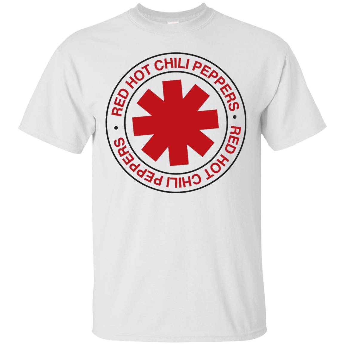 Red Hot Chili Peppers Vintage Distressed T-Shirt Californica