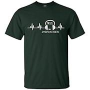 911 Dispatcher Shirts 911 Dispatcher Heartbeat – T-Shirt