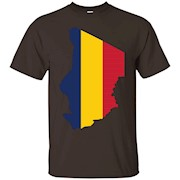 Chad flag T-shirt Chad African Nation Country – T-Shirt