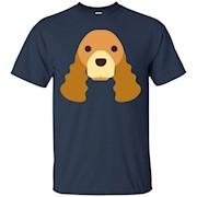 Cute Cocker Spaniel Dog Shirt – T-Shirt