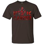 Deadpool fu k cancer, fu k cancer t-shirt – T-Shirt