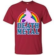 Death metal rainbow shirt – T-Shirt