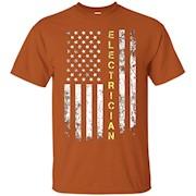 Electrician American Flag T-shirt – T-Shirt