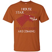 House StarGaryen Fire and Blood are coming – T-Shirt
