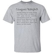 Color Guard Kulergard Colorguard T-Shirt