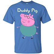 fun Dad shirt with pig – T-Shirt
