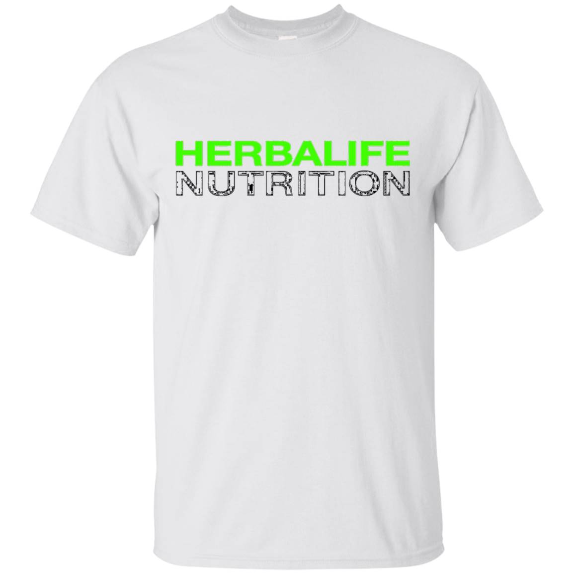 HERBALIFE NUTRITION T-SHIRT – NEON BLACK DESIGN – T-Shirt