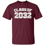 Class of 2032 32 School Tee Shirt – Graduation Class Party – T-Shirt