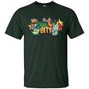 Dragon And City T Shirt – T-Shirt