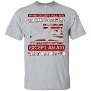 Air Force A-10 Warthog Funny Military T Shirt – T-Shirt