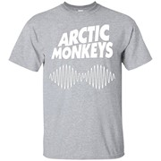 Artic Monkeys Soundwave Music Band Tshirt – T-Shirt
