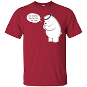 Ice Bear Believes In You – We Bare Bears – T-Shirt