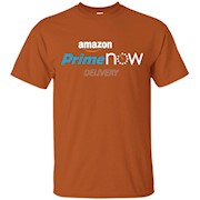 Prime Now Delivery Shirt White Letters – T-Shirt
