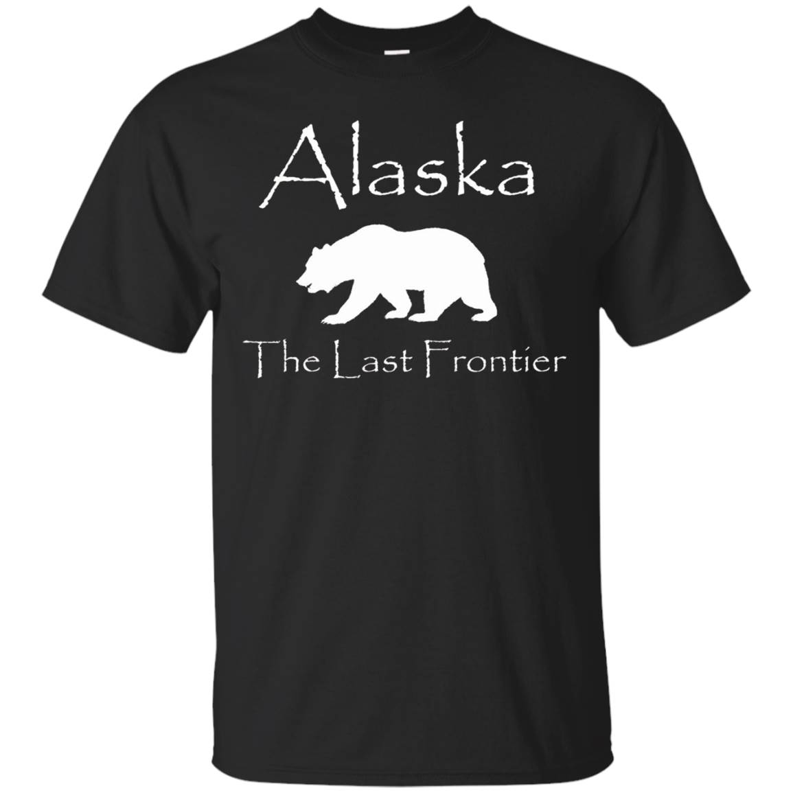 Alaska The Last Frontier Bear – T-Shirt