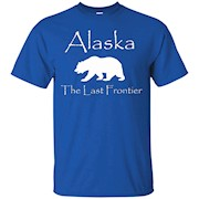 Alaska The Last Frontier Bear – T-Shirt