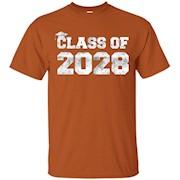 Class Of 2028 T-Shirt – Kindergarten – Adult Sizes