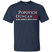 Popovich Duncan 2016 Shirt Popovich Duncan 16 T Shirt – T-Shirt