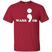 Stronger Semicolon Project Suicide Prevention Awareness – T-Shirt