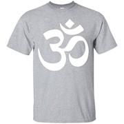 Om Symbol Yoga T-shirt – T-Shirt