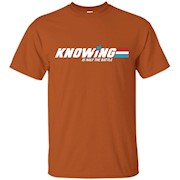 Knowing Is half The Battle 80s tshirt – T-Shirt