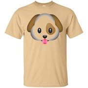 Dog Puppy Emoji T Shirt – T-Shirt