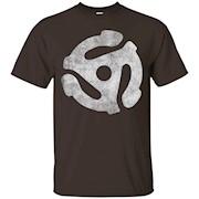 FSG Brand – Vintage 45 RPM Adapter T-Shirt