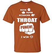 Men's Rock Paper Scissors Throat Punch T Shirt – T-Shirt