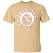 Smokey Bear T Shirt KEEP AMERICA GREEN – T-Shirt