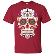 Sugar Skull Purple Prince Tshirt – T-Shirt