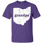 Men's Ohio Grandpa T Shirt Grandfather Gifts Grandpa Shirt – T-Shirt