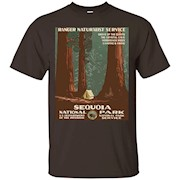Sequoia National Park T-Shirt, Camping in the Redwood Forest