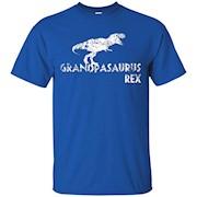Mens Grampasaurus Rex Shirt, Funny Cute Dinosaur Twin Gift