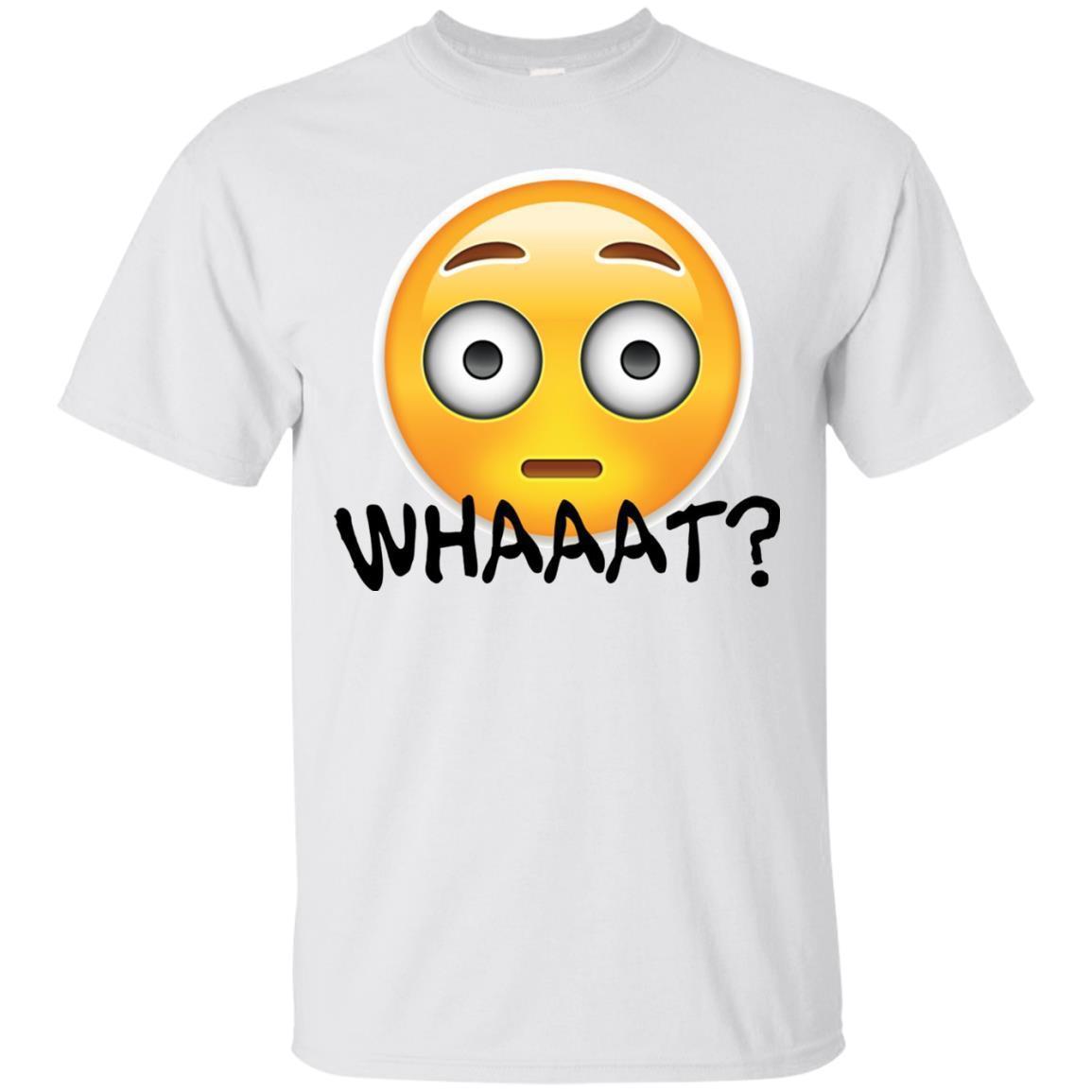 Emoji – WHAAAT – Perfect Summer T-shirt