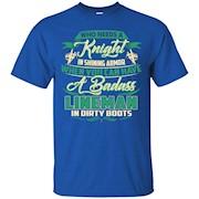 A Badass Lineman In Dirty Boots T-shirt – T-Shirt