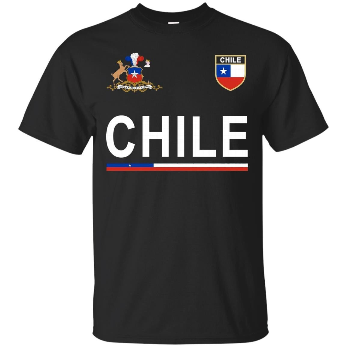 Chile Soccer T-Shirt – Chilean Football Jersey