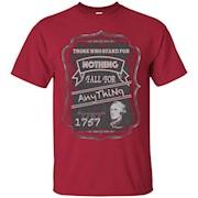 Cool Alexander Hamilton Quote T-Shirt
