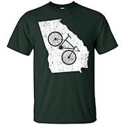 Georgia Home State Bike Cycling & Triathlon Gift & T-Shirt