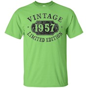 60 Years Old 60th B-day Birthday Gift 1957 Limited T-Shirt