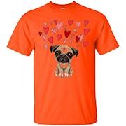 Funny Cute PUG Dog Lover Dad Mom Girl Lady Men Women T Shirt – T-Shirt