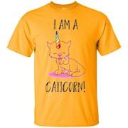 I Am A Caticorn Funny Cute Cat Unicorn T Shirt – T-Shirt