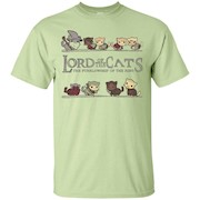 Lord Of Cats Funny T-Shirt For Cat Lovers