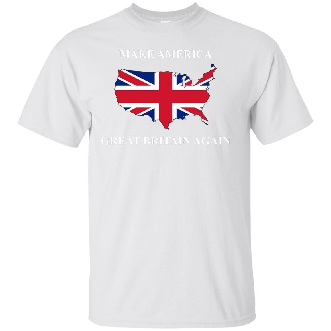 Make America Great Britain Again Donald Trump Funny Shirt – T-Shirt